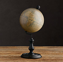 1949 French Desktop Globe