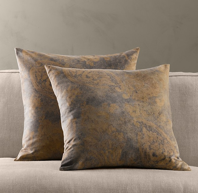 Restoration Hardware Pillows: Stacy Nance Interiors