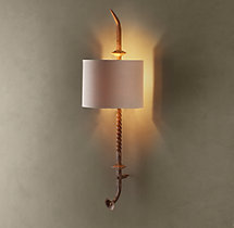Loire Architectural Railing Sconce