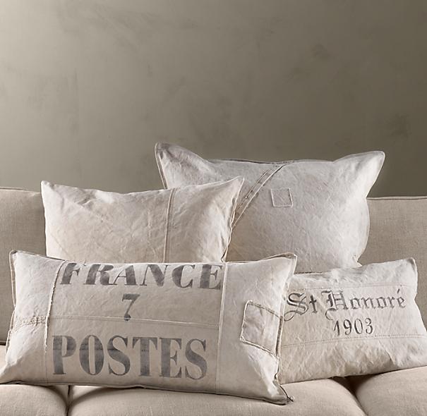 St Honore Lumbar Tarp Pillow