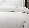 Italian Vintage-Washed 464 Percale Duvet Cover