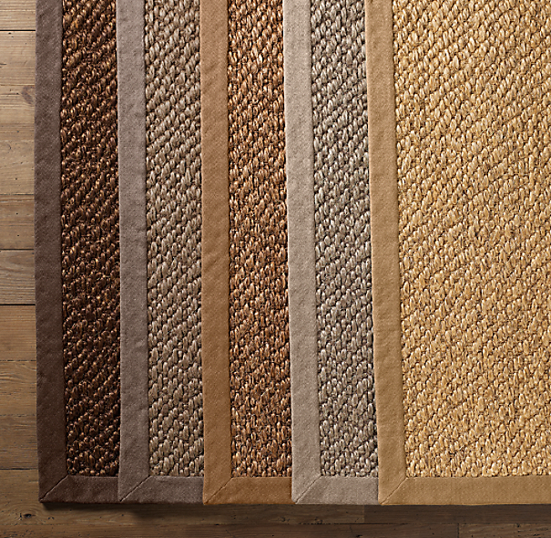Belgian Braided Sisal Rug Swatch