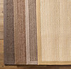 Belgian Textured Wool Sisal Rug Swatch