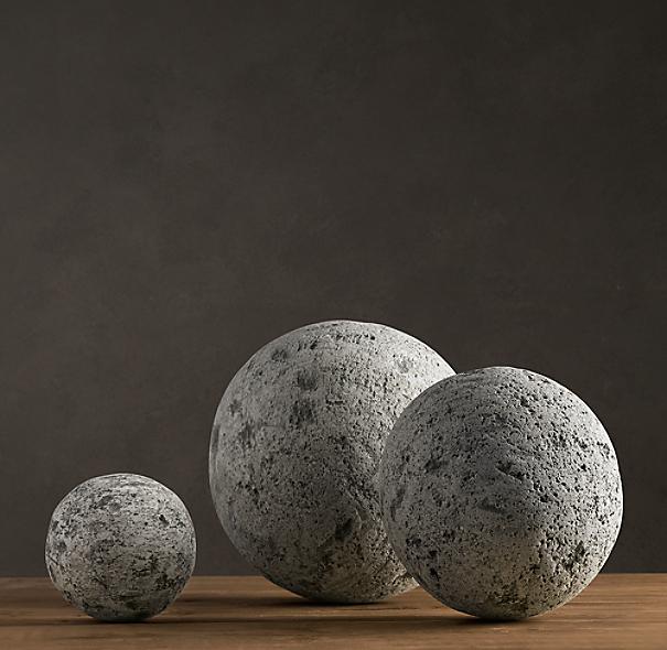 Lava Stone Spheres