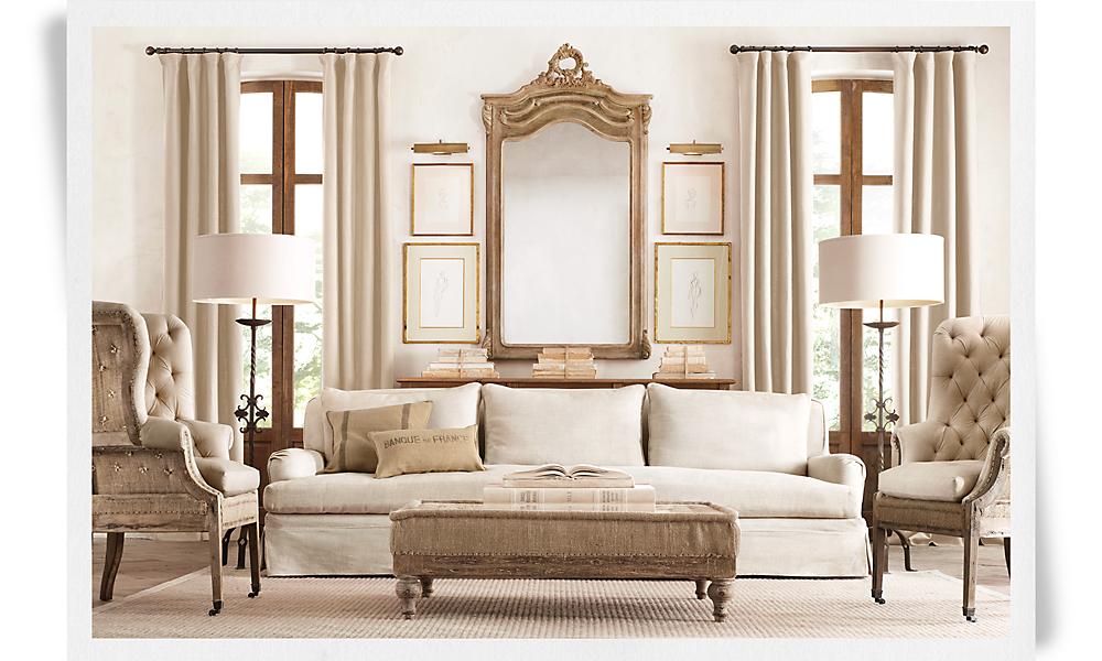 rh. Black Bedroom Furniture Sets. Home Design Ideas