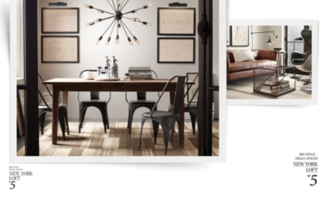 Big Style, Small Spaces | Restoration Hardware