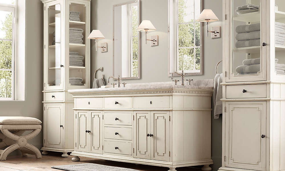 28 New Restoration Hardware Bathroom Cabinets