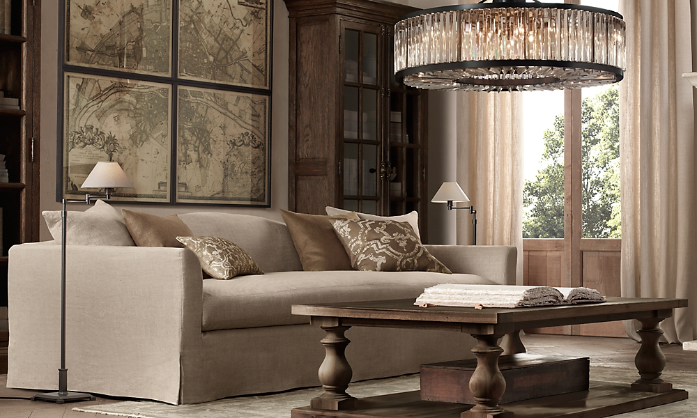 restoration hardware living rooms restoration hardware