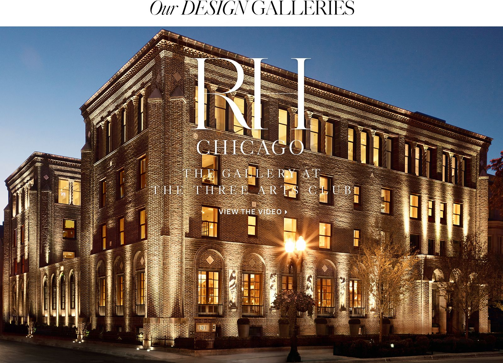 Introducing the RH Design Galleries