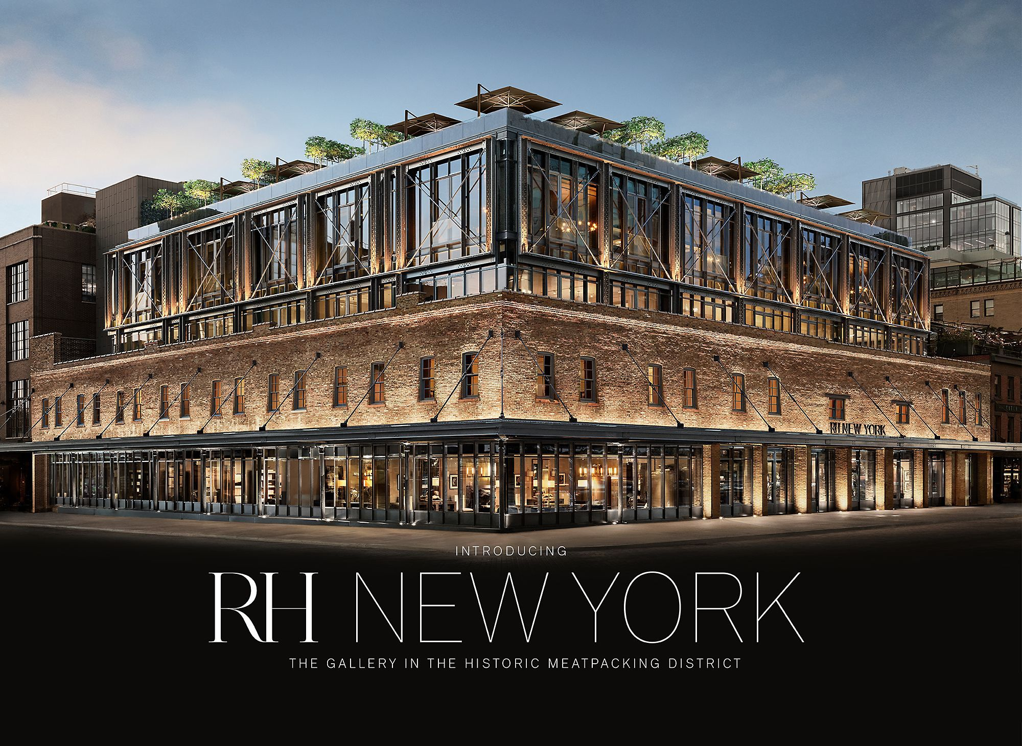 Rh New York The Gallery In Historic Meatng District