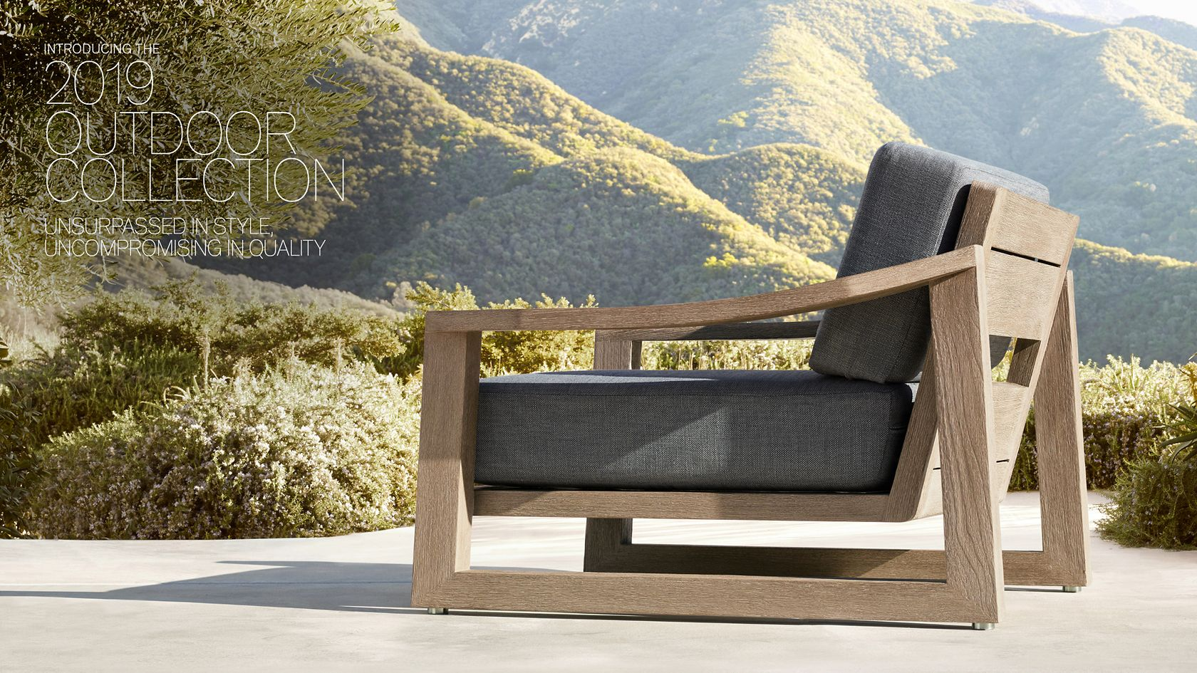 Rh Modern Our 2019 Outdoor Collections