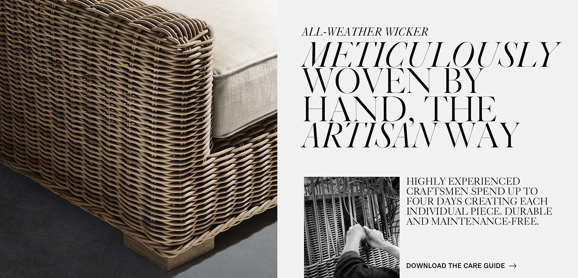 Wondrous All Weather Wicker Rh Cjindustries Chair Design For Home Cjindustriesco