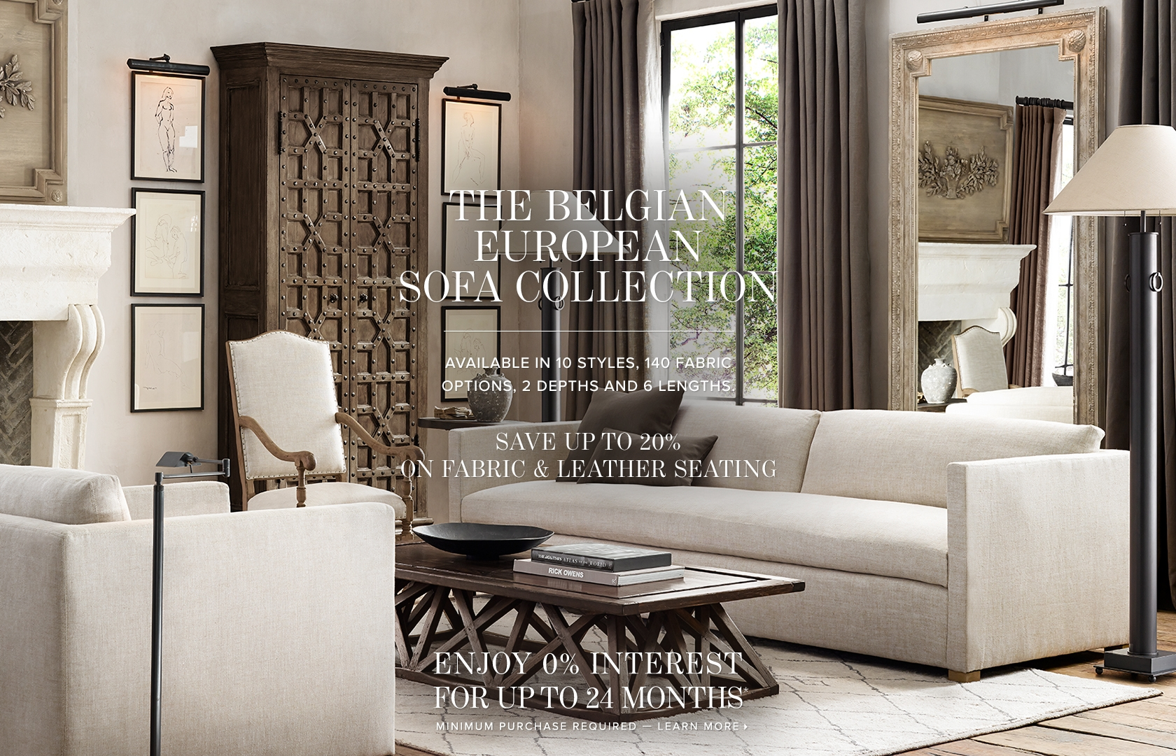 RH is the premier luxury brand in the home furnishings marketplace, offering artisan-crafted furniture, lighting and decor for both indoor and outdoor living.