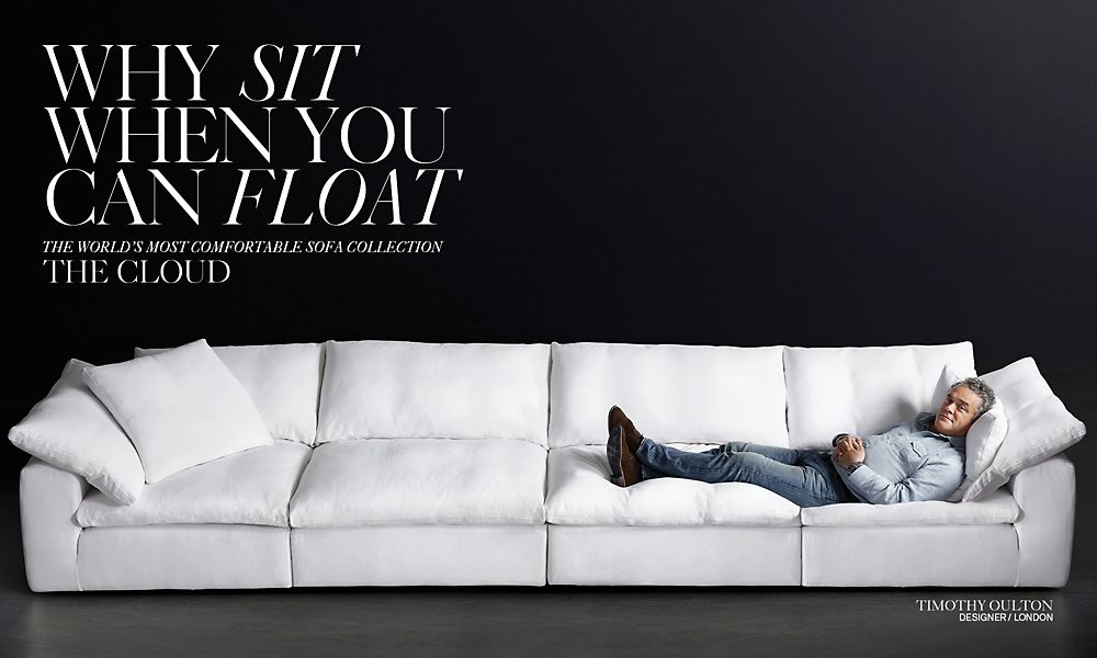 Why Sit When You Can Float. The Cloud Collection.