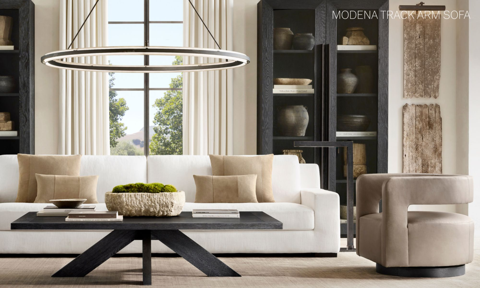 Rh Modern Homepage, Restoration Hardware Living Room