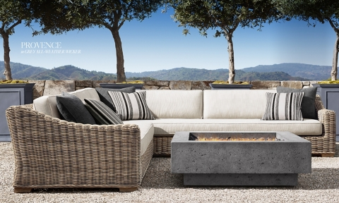 Explore Our New 2018 RH Outdoor Collection.