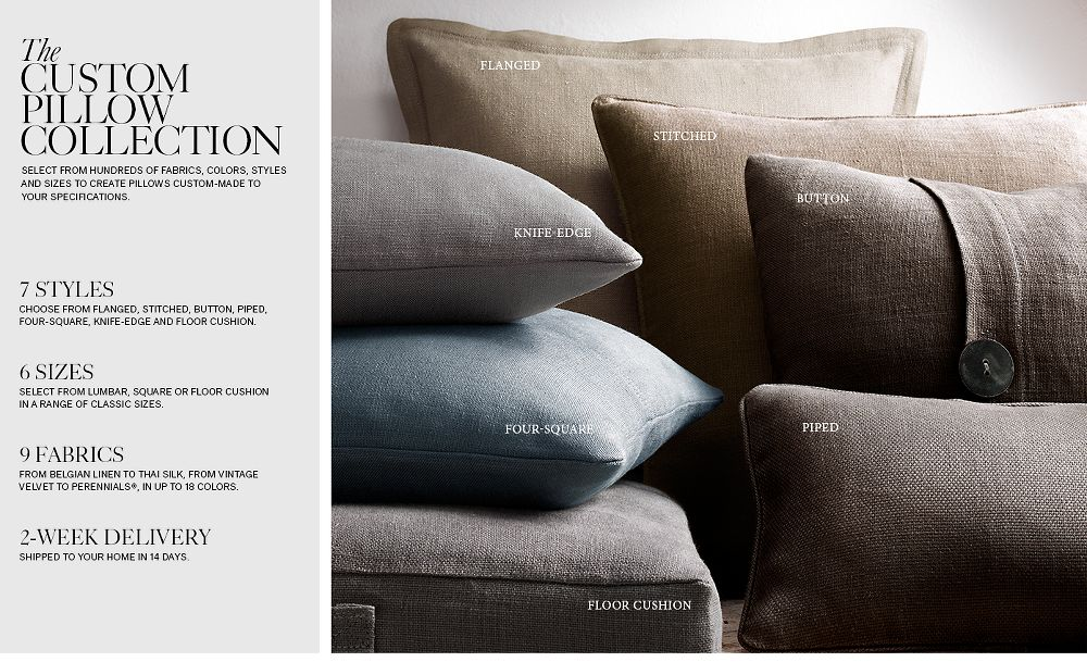 The Custom Pillow Collection