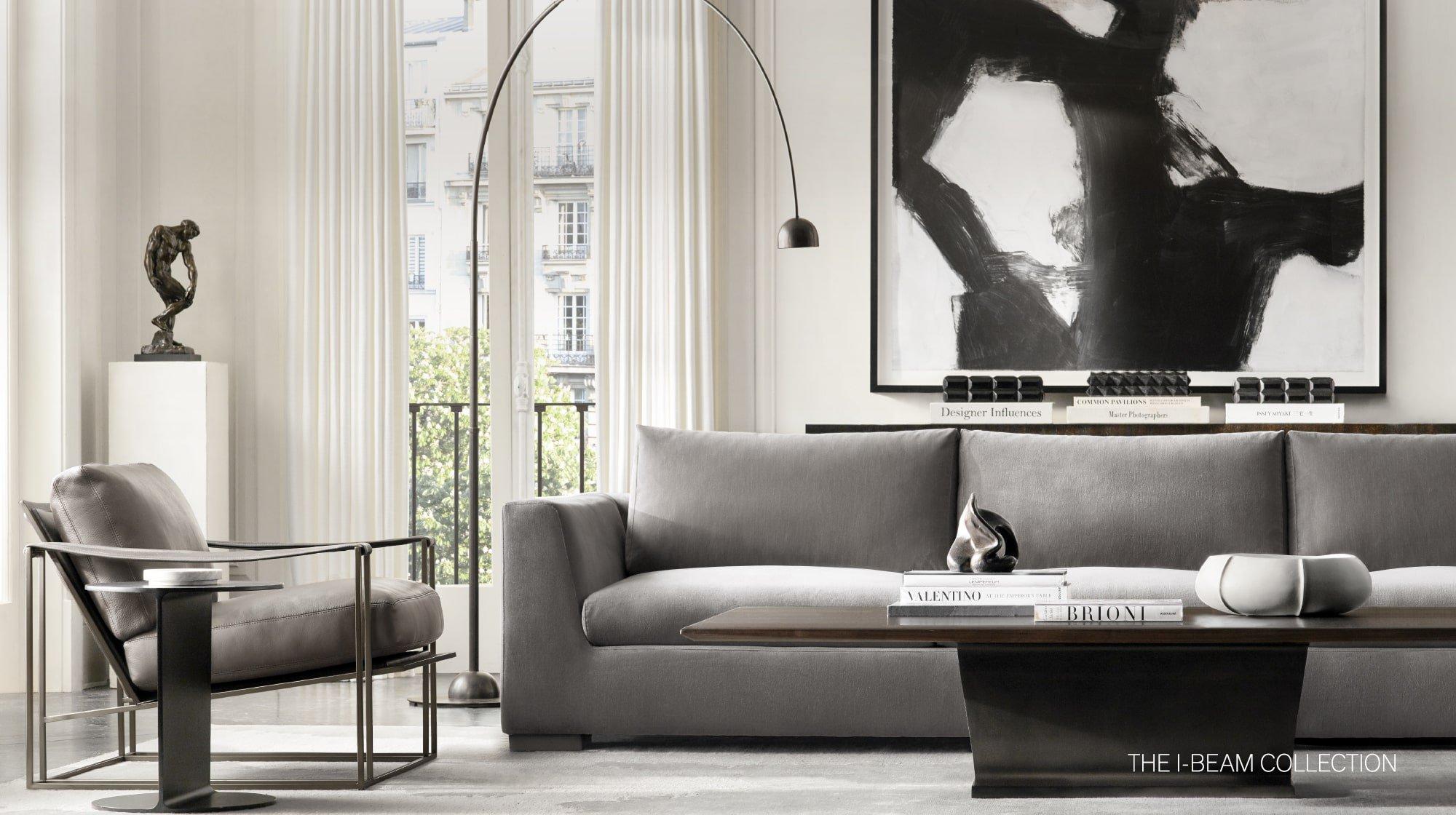 Fantastic Rh Modern Homepage Complete Home Design Collection Papxelindsey Bellcom