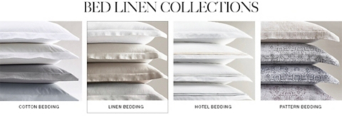 Shop Linen Bedding Collections