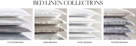 awesome Restorationhardware Bedding Part - 13: Shop Bedding Collections
