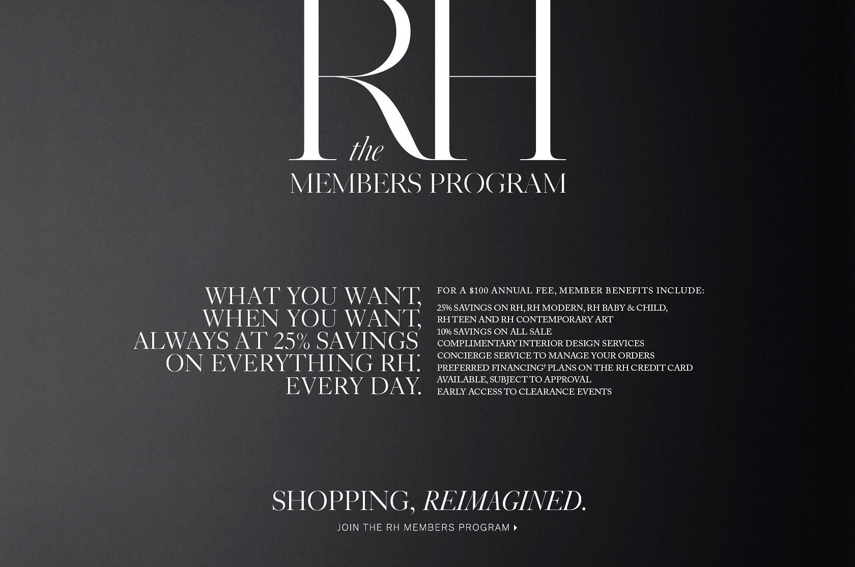 RH Grey Membership