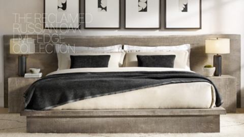 Sleigh bed inspirations for a cozy modern bedroom