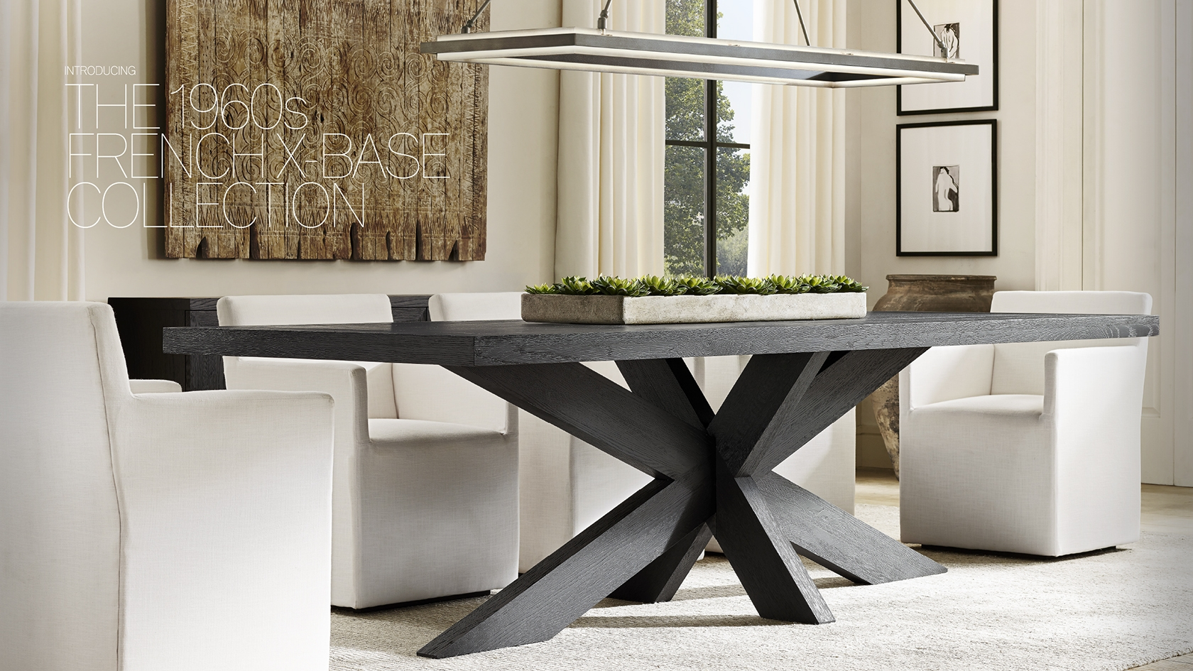Rh modern explore the x base collection