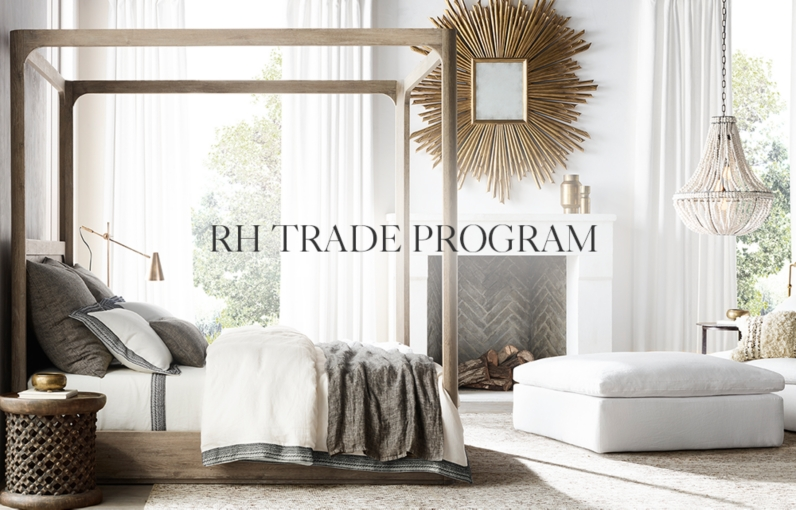 Trade Sales Home | Rh