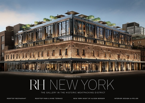 RH New York   The Gallery In The Historic Meatpacking District
