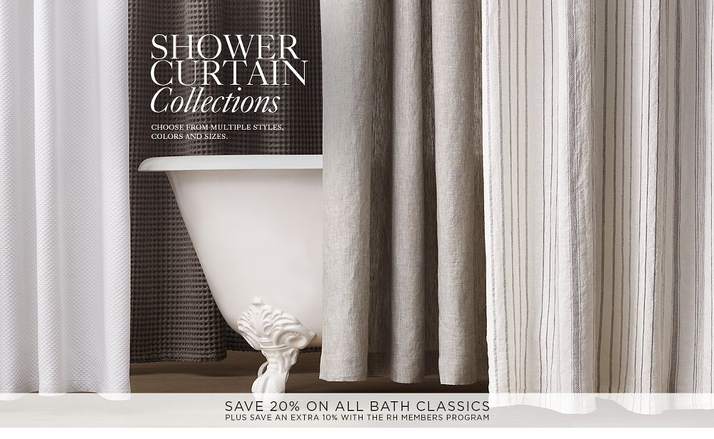 Shower Curtains Rh