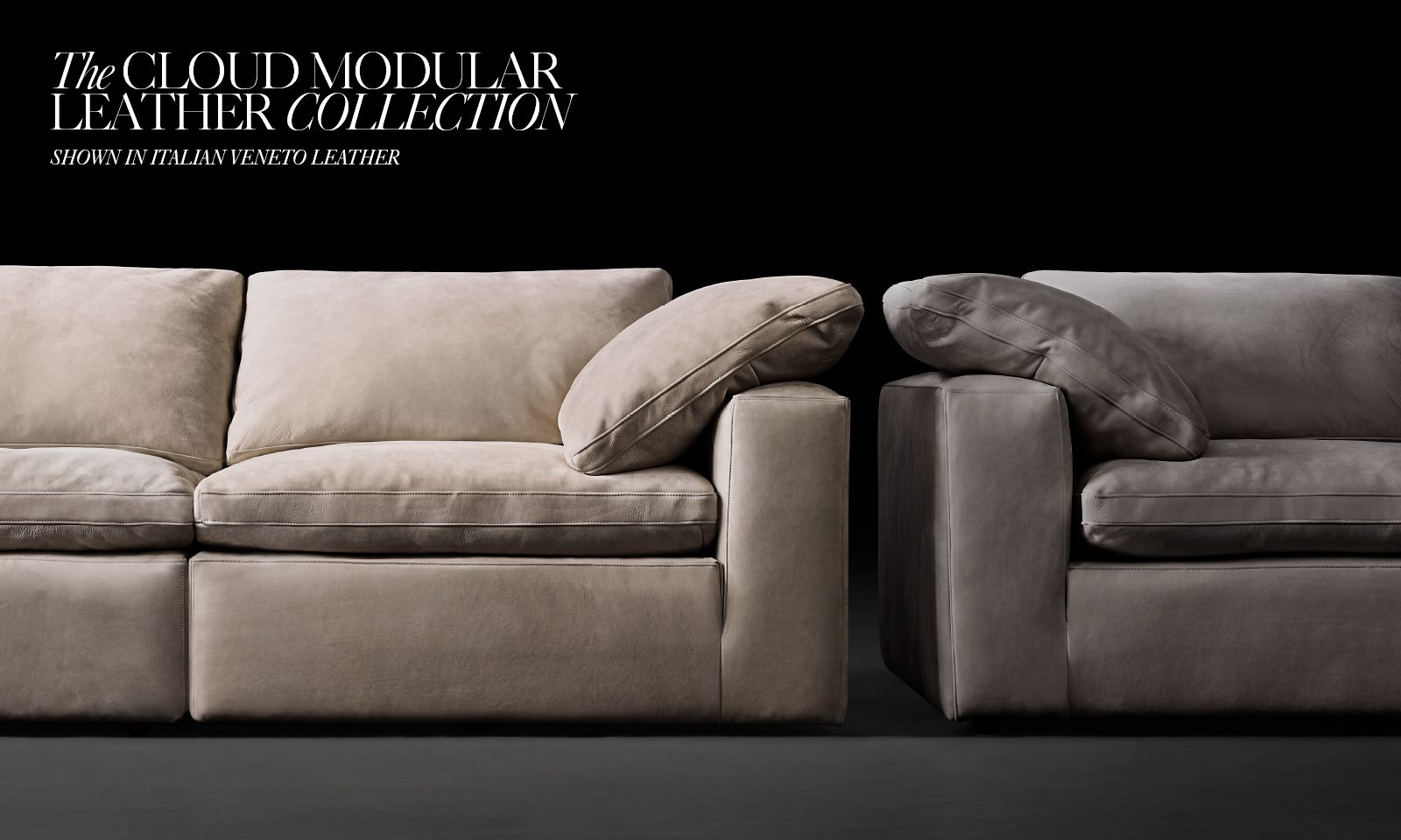 The Cloud Modular Leather Collection