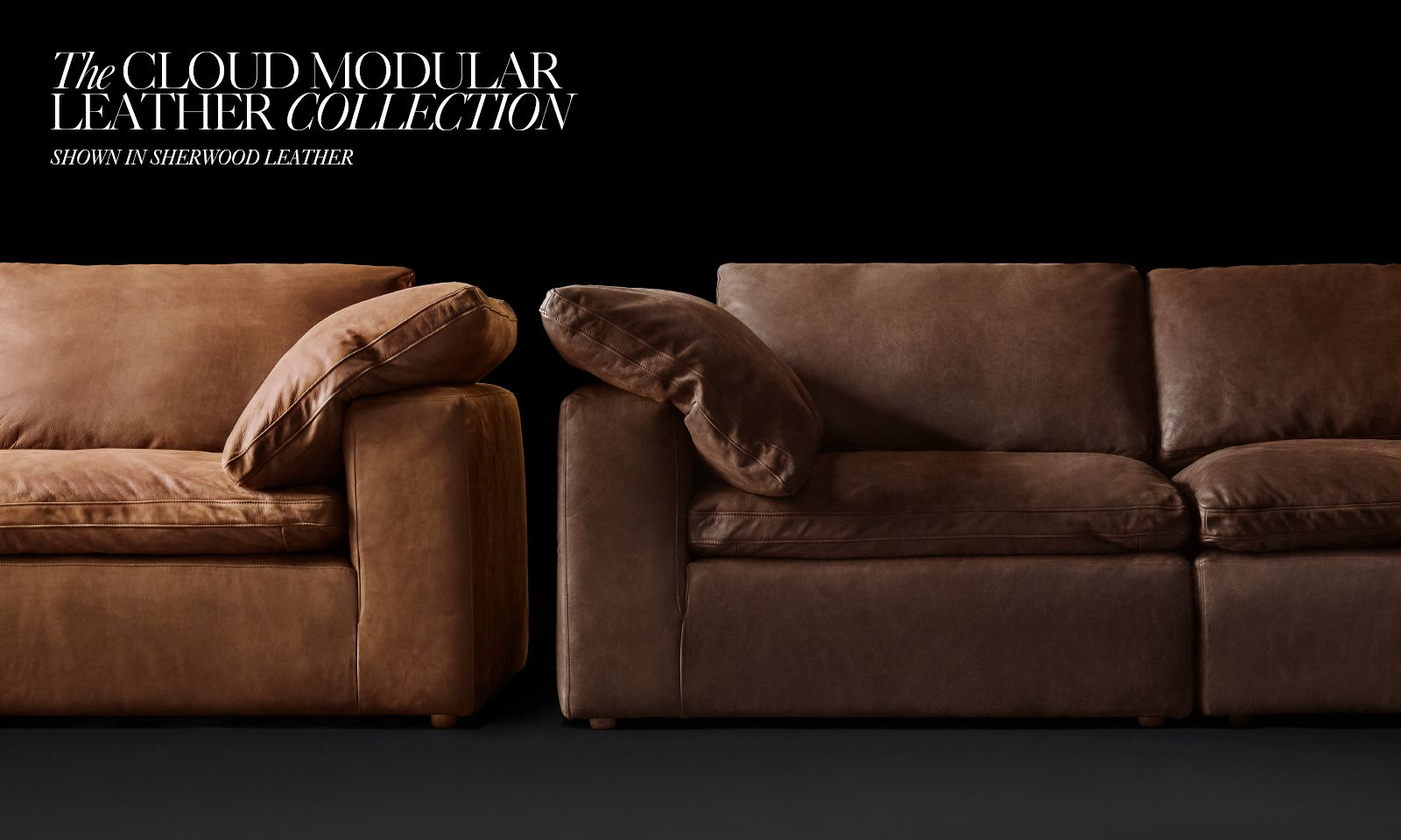 ... The Cloud Modular Leather Collection