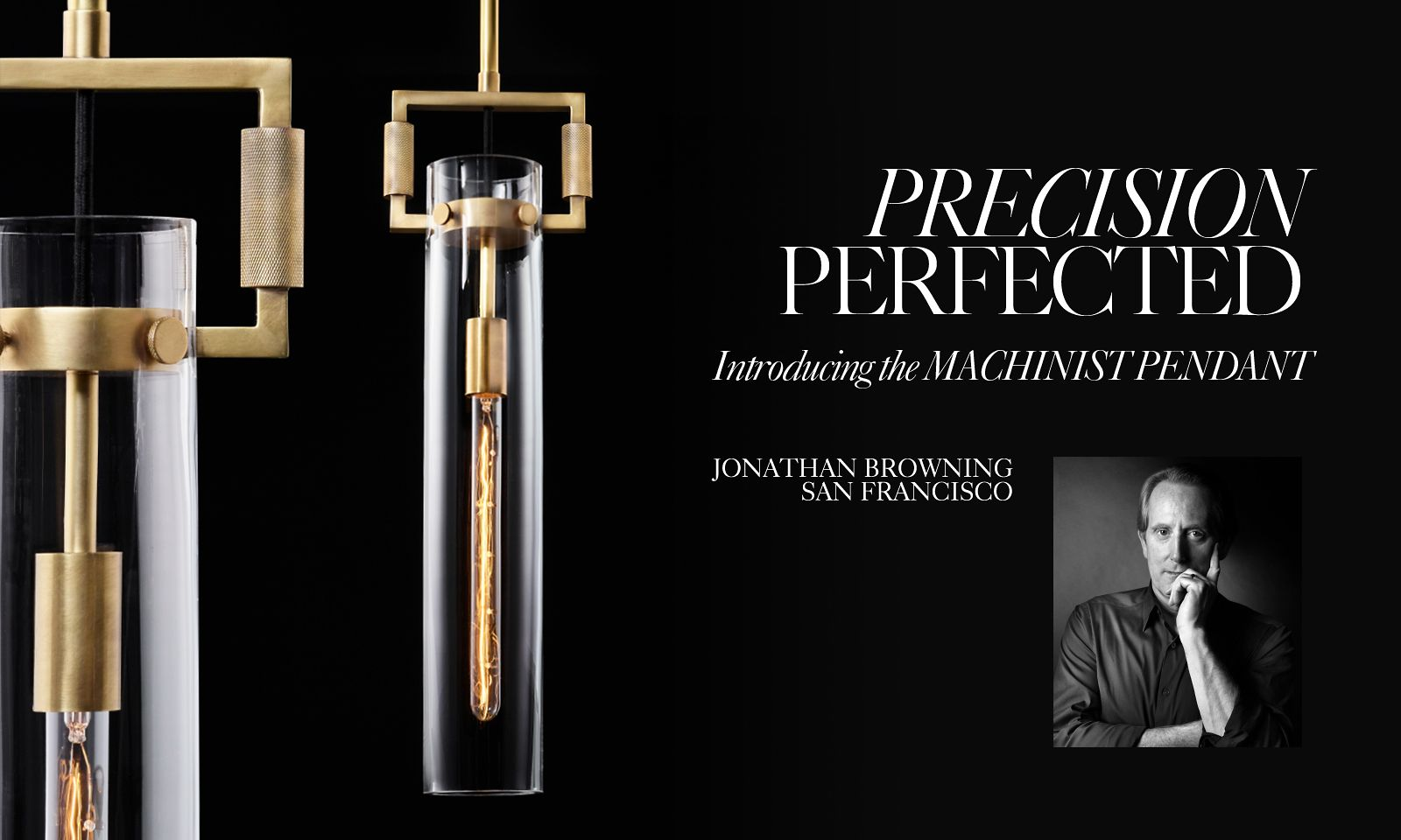 Precision Perfected. Introducing the Machinist Pendant.