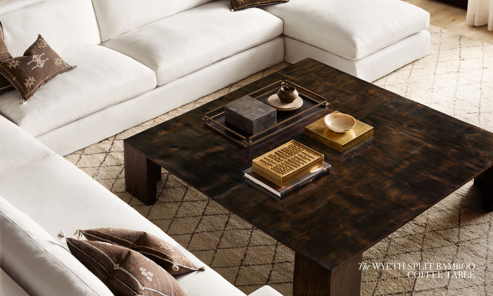 Introducing the Wyeth Split Bamboo Coffee Table