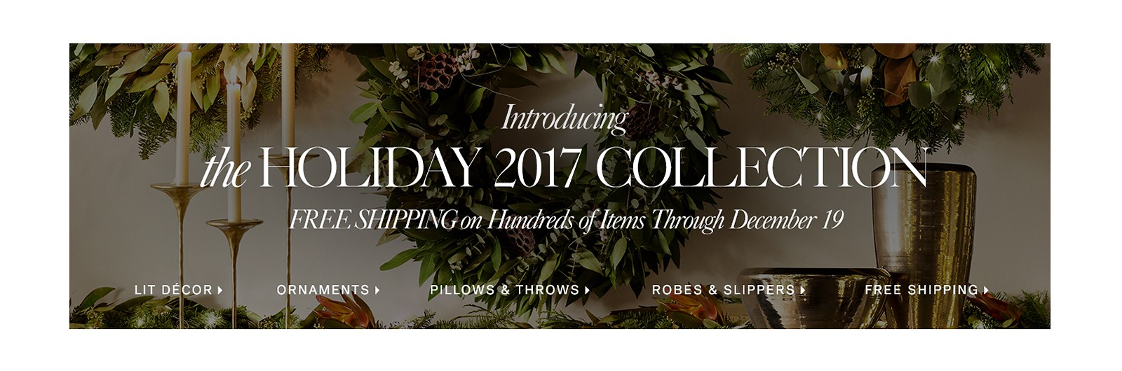 Introducing the Holiday 2017 Collection