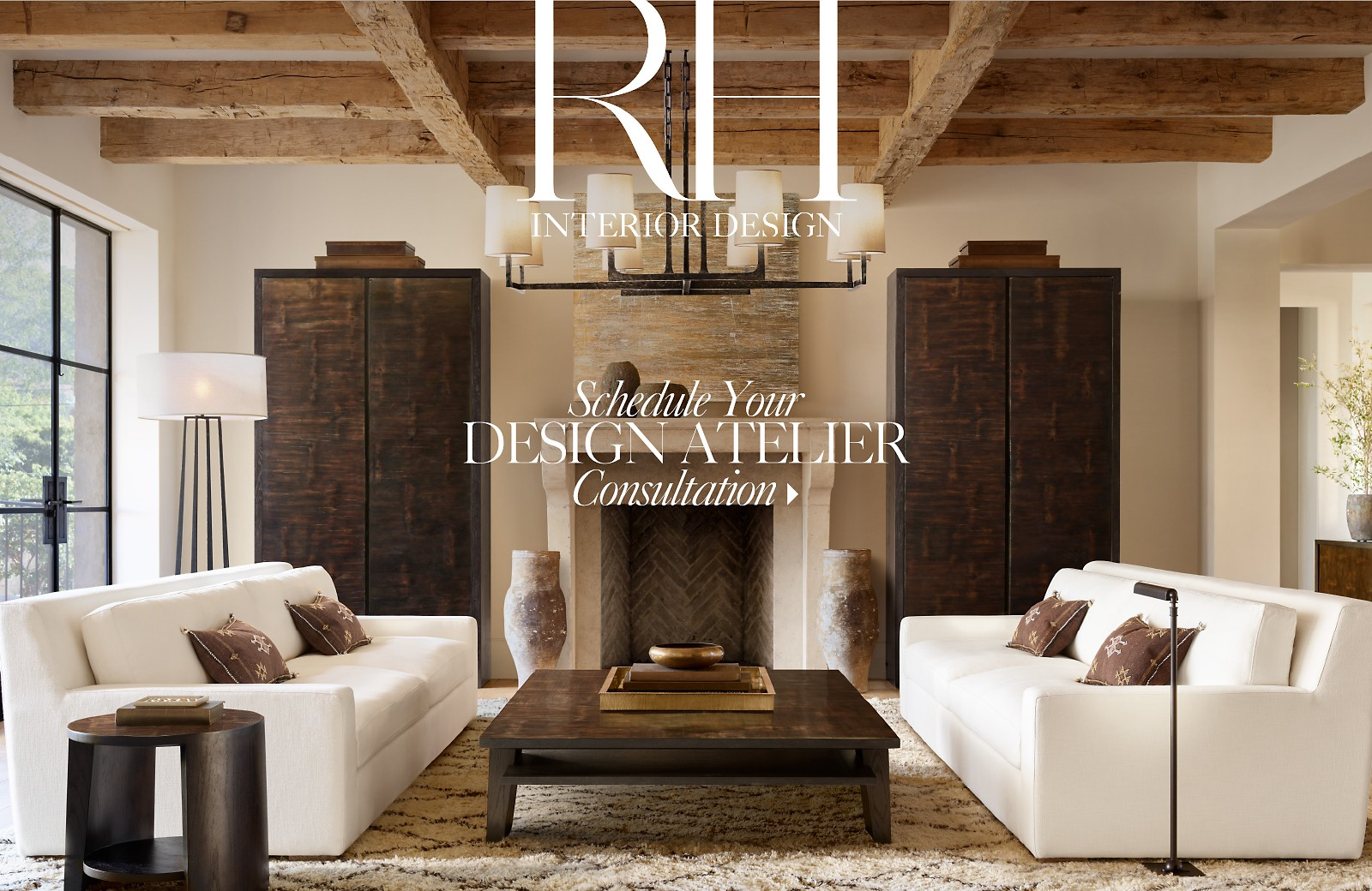 Schedule your RH Interior Design Consultation. RH Homepage