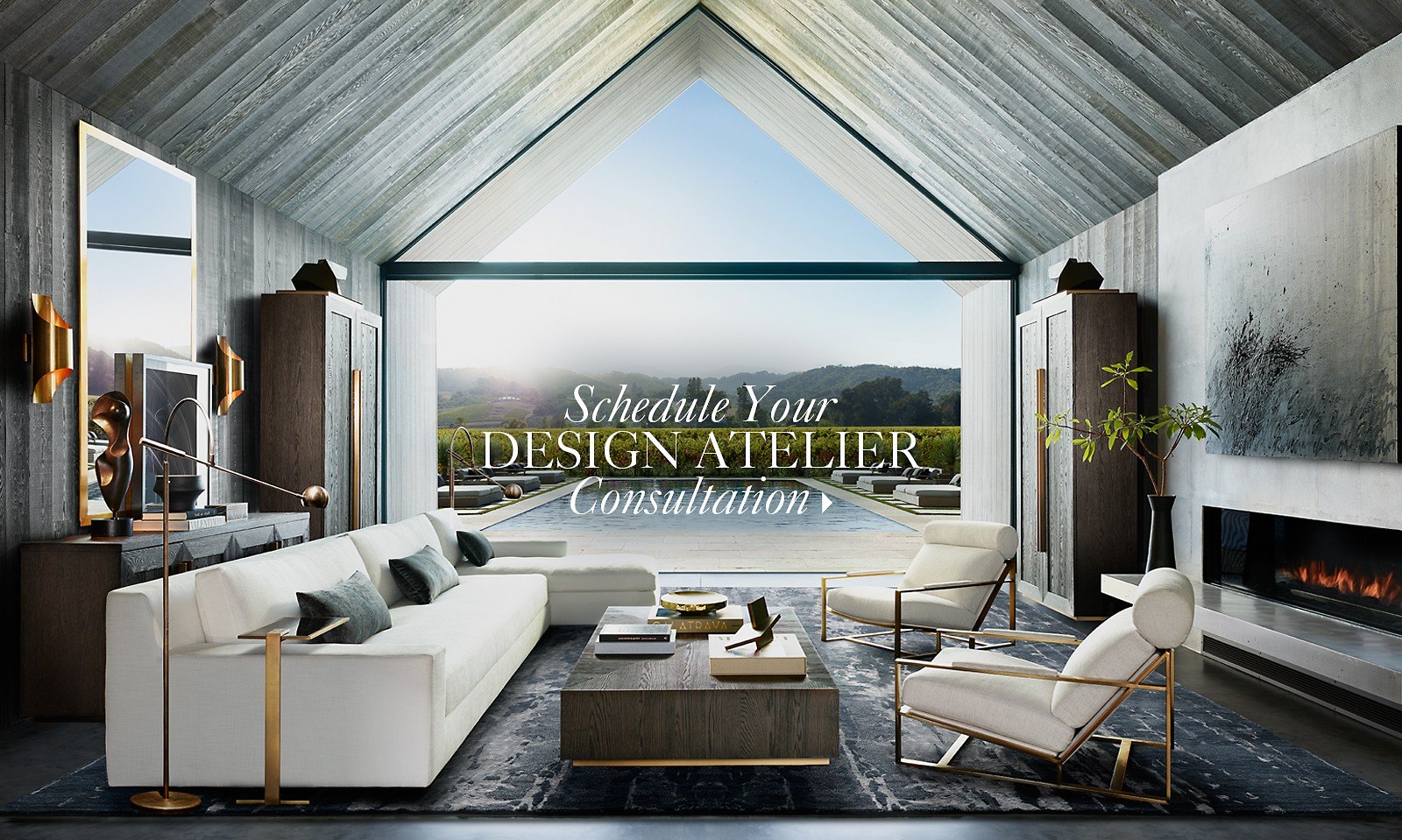 Imagine Yourself Here Schedule Your RH Interior Design Consultation