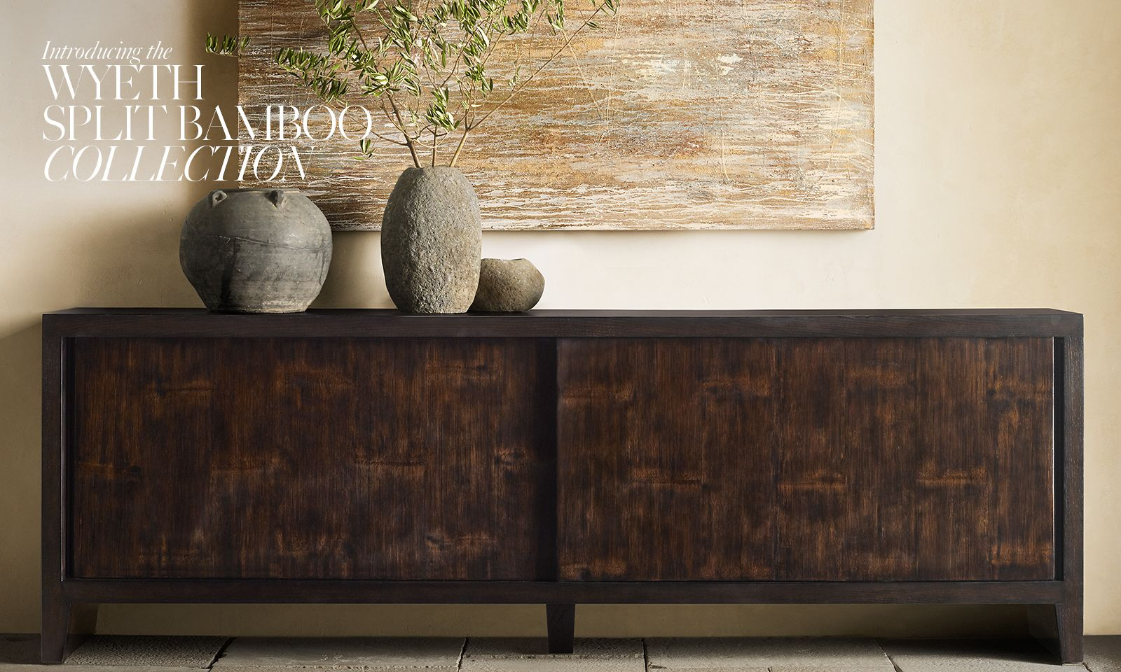 Introducing the Wyeth Split Bamboo Collection.