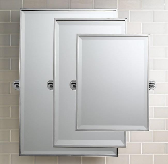 Asbury 20 Square Pivot Mirror
