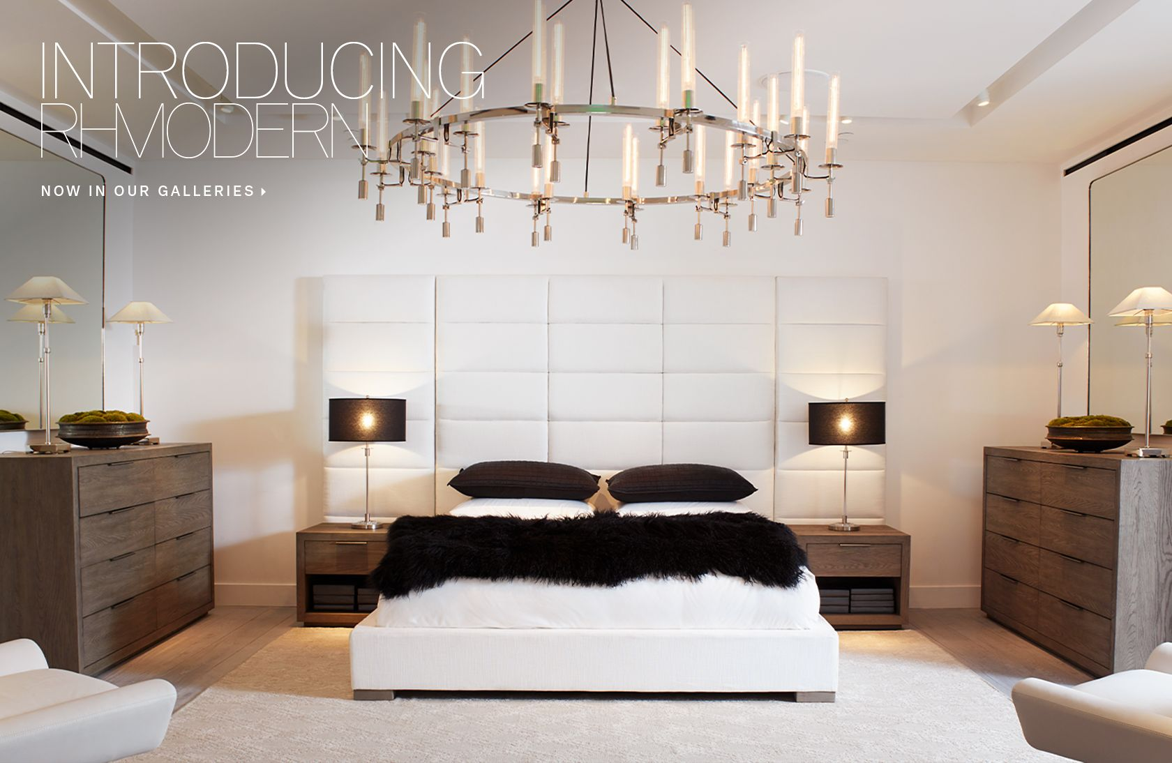 Restoration hardware bedroom -  Introducing Rh Modern Now In Our Galleries