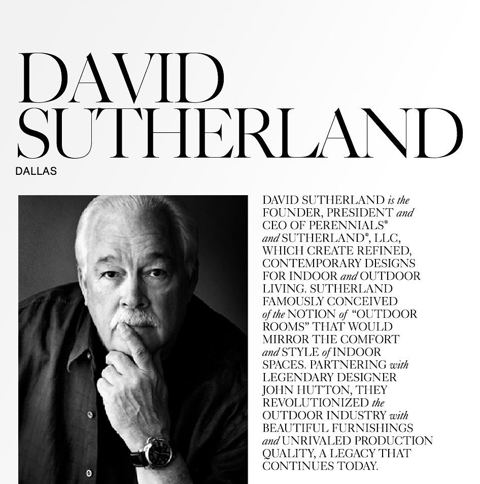 David Sutherland and John Hutton