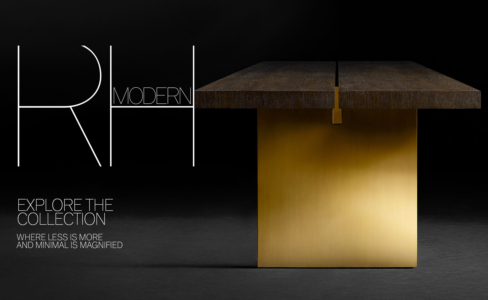 Introducing the 2017 RH Modern Collection. Where Less is More and Minimal is Magnified.