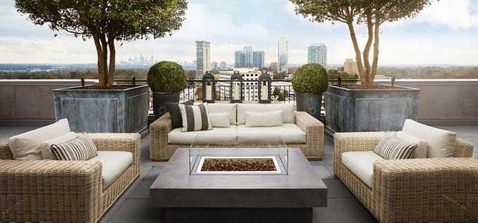 Exceptionnel Rooftop Garden