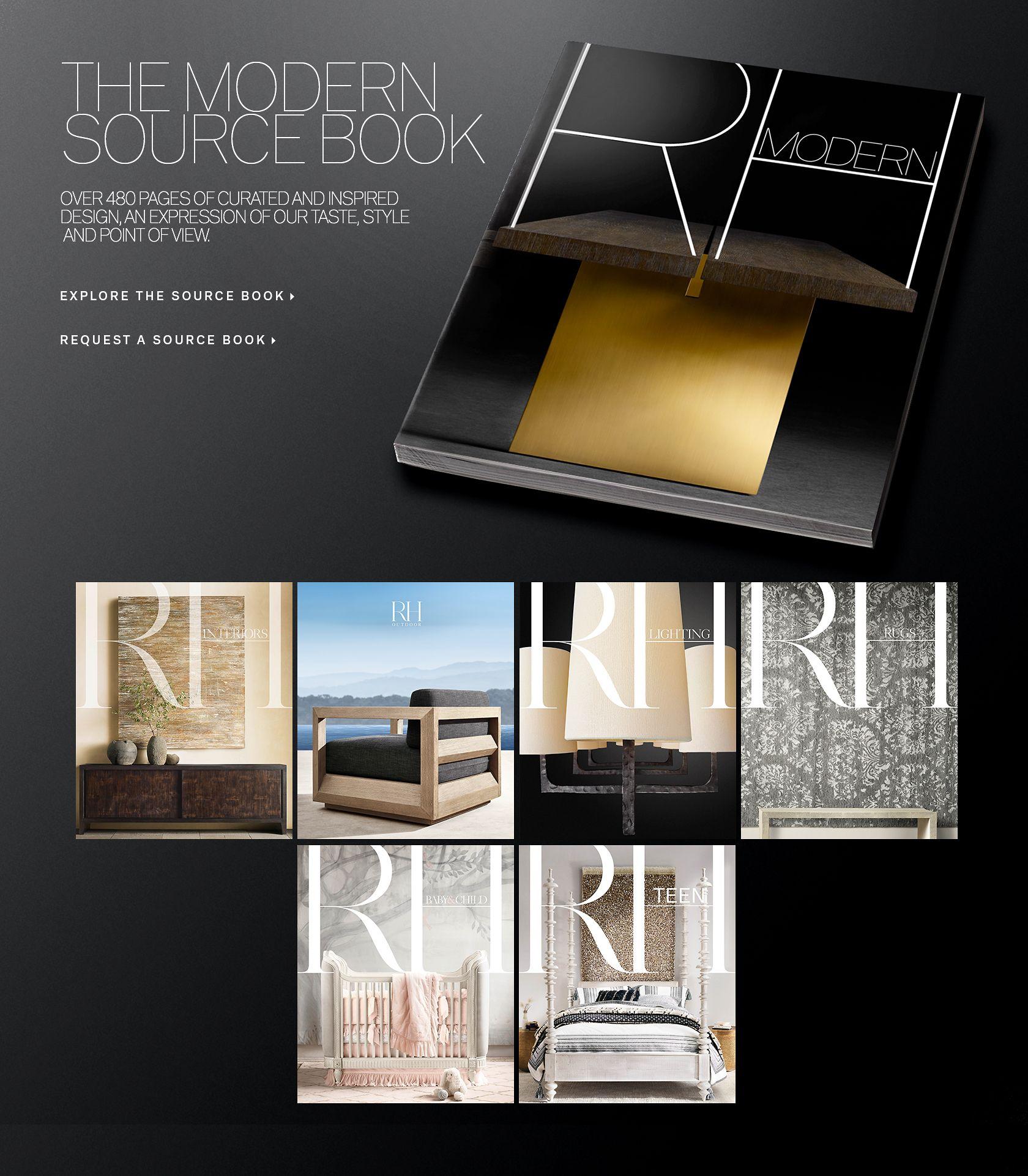 View the 2017 RH Modern Source Book