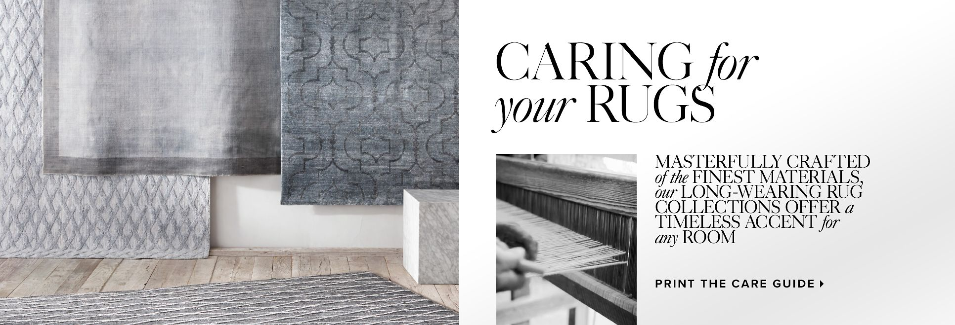 Caring for Your Rugs