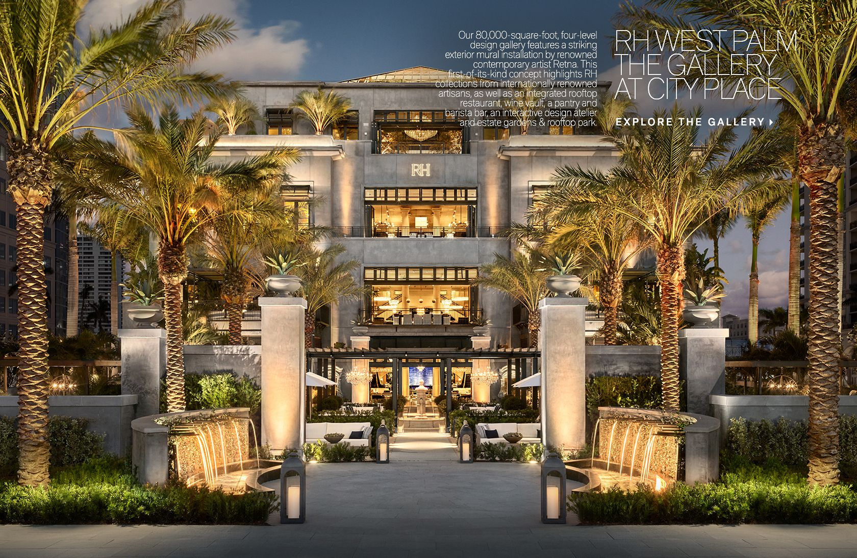 RH West Palm - The Gallery at City Place