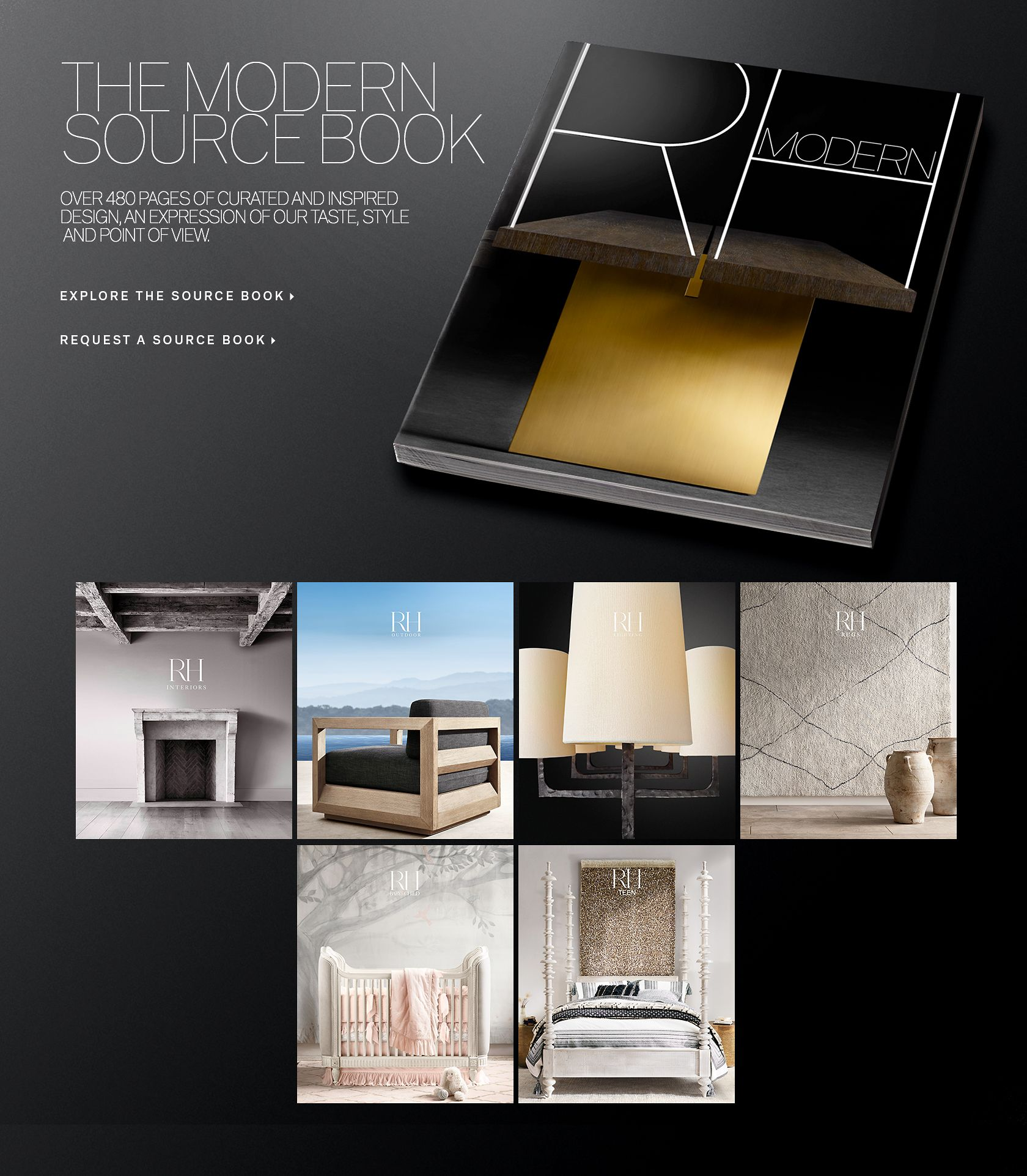 View the 2017 RH Modern Source Book