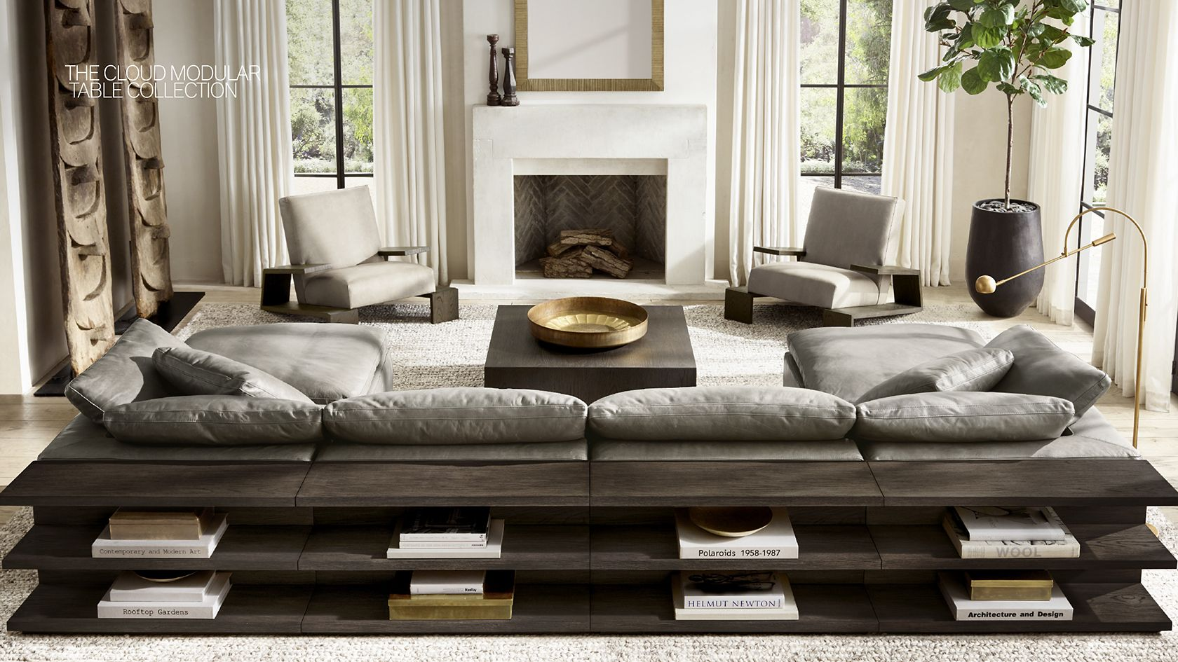 Rh modern homepage for Living room furniture stores in ct