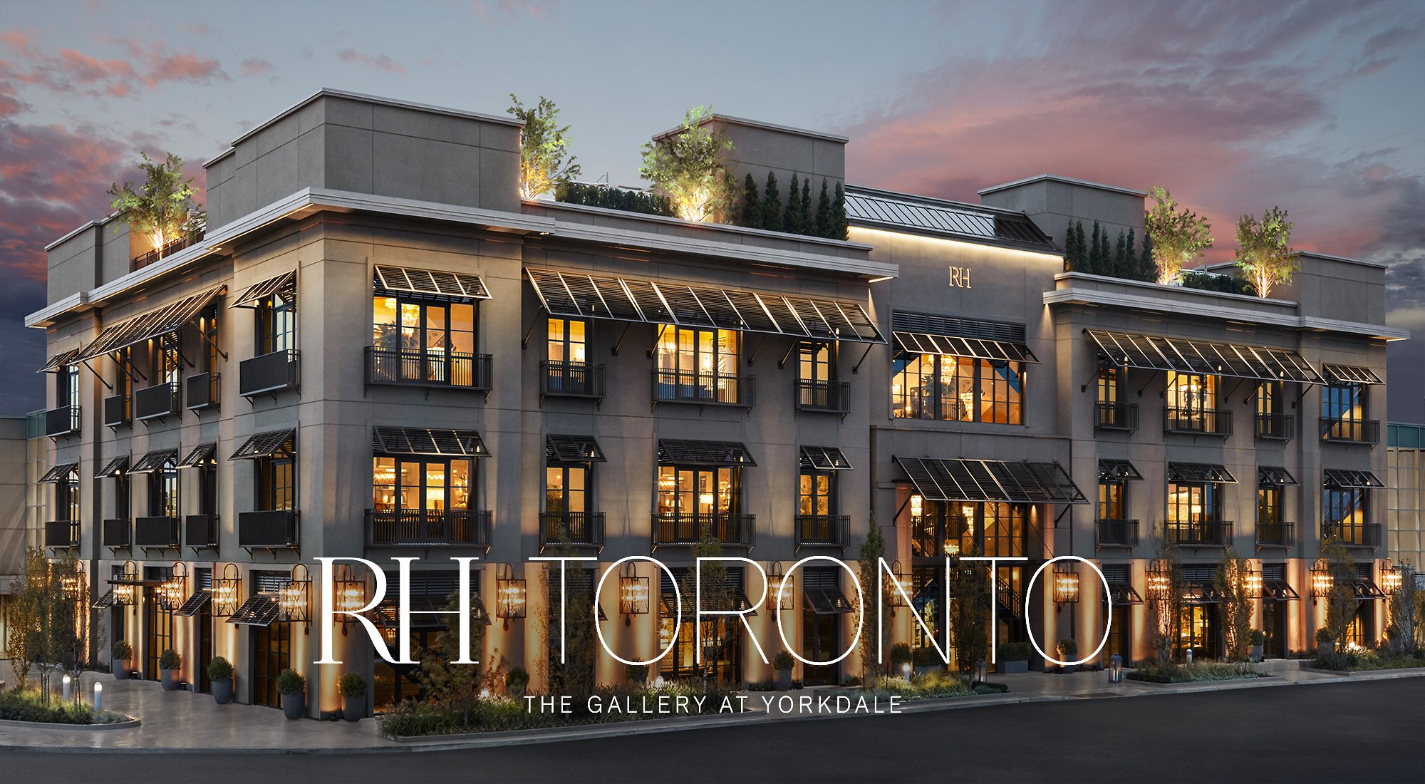 Rh toronto the gallery at yorkdale