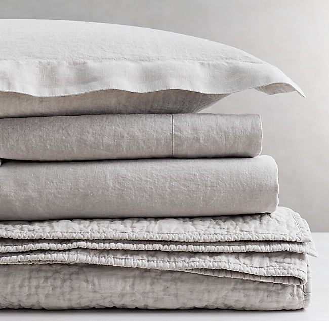 Find Many Great New Used Options And Get The Best Deals For Restoration Hardware Stonewashed Belgian Linen Duvet Cover Twin Prairie At